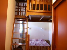 Chambre avec mezzanine