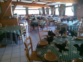 Salle de restaurant des Aravis